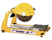 "Paving stone 14"" tablel saw"
