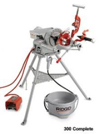 ridgid 300 pipe threading machine