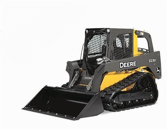 JD 323D Track skid steer loader